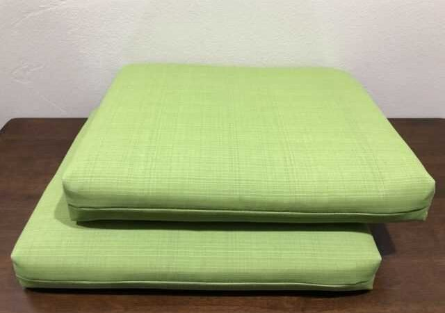 Seat Cushions – Indoors And Out